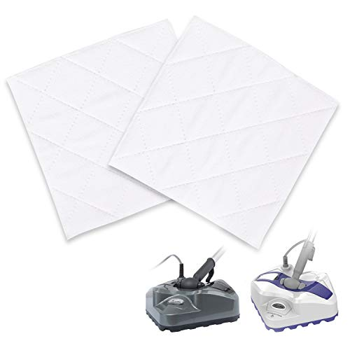 LIGHT 'N' EASY Steam Mop Pads S7338 and S7339 Floor Steamer Mop for Grout,Laminate,Carpet,Cleaning Machine with Automatic Steam Control,Electric Mop Steam Cleaner 1940 - Mop Easy Steam Home
