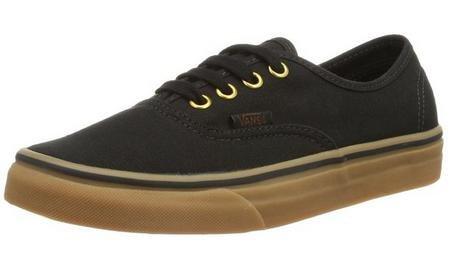 c Black/Rubber Skate Shoe 3.5 Men US/5 Women US (Discount Vans)