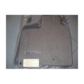 toyota sienna simplex carpeted custom fit floor mats 4 pc set 7 passenger. Black Bedroom Furniture Sets. Home Design Ideas