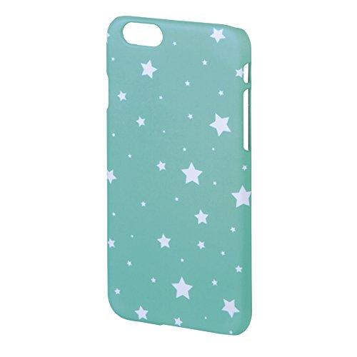 Hama Luminous Stars Cover für Apple iPhone 5/5S–Mint/Weiß