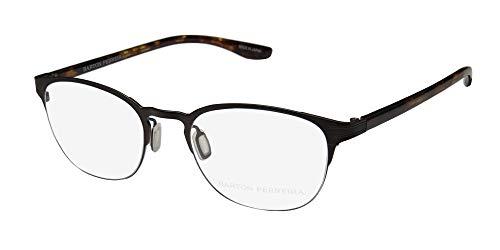 Barton Perreira Lyle For Ladies/Women Cat Eye Full-Rim Shape Titanium Stunning Modern Eyeglasses/Eyewear (51-19-145, Matte ()