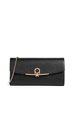 Icon Mini Gancini Ferragamo Women's Salvatore Nero Bag qzSp8wnwx