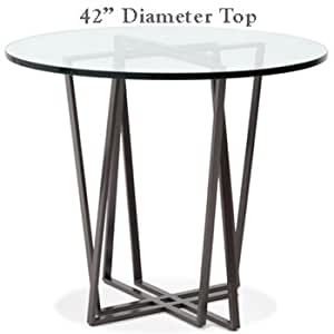Forrest Bar Height Table | 42in Round Top