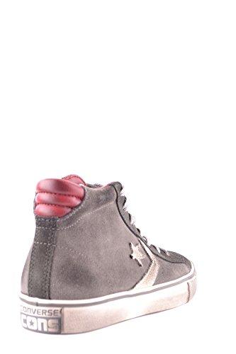 Converse Hi Top Sneakers Donna MCBI077011O Camoscio Grigio