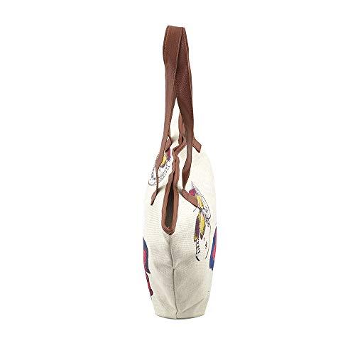 Collection Blanc à à lusso pour porter blanc Sac unique femme l'épaule Di Taille C15pqxzww