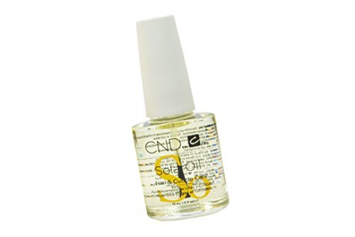 Creative Nail Design Solaroil Solar Oil Nail and Cuticle Care Naturally light oils keep skin soft and supple. Jojoba Oil draws Rice Bran Oil and Sweet Almond Oil into natural nails : 15ml / 0.5fl.oz (Solar Oil)