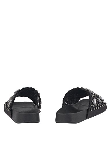 Slides LOUVEL Black Slides Women's LOUVEL Black LOUVEL Women's Women's 5dRwqT8