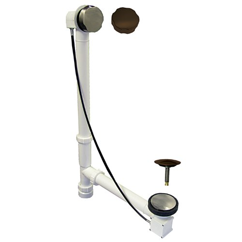 - Watts 22SN/ORB Cable Drive Style Bath Drain, Satin Nickel/Oil Rubbed Bronze Trim