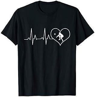 Volleyball heartbeat shirt t-shirt gift volleyball team T-shirt | Size S - 5XL