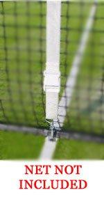 EDWARDS Centre Court Tennis Net Adjuster Set NET NOT INCLUDED - ADJUSTER ONLY