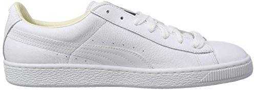 Puma Bskt Clsc Lfs F6, Zapatillas Unisex Adulto Blanc (White/White 17)