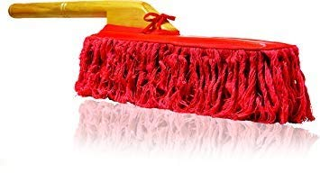 California Car Duster 62442 Original Car Duster With Wooden Handle