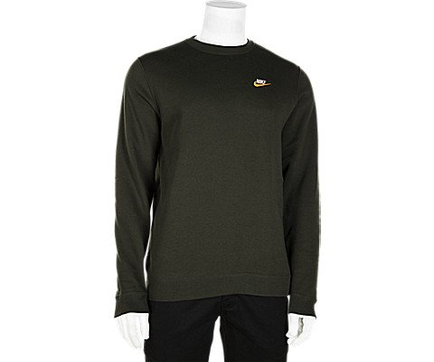 Nike Men's Sportswear Crew (Black/University Red/White, Small) (XX-Large) (Small, Green) by Nike (Image #3)
