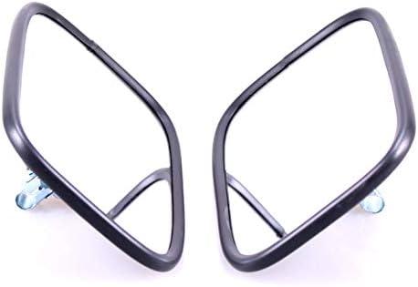 2 specchietti esterni 305 x 170 /ø14 18 trattore camion ruspa con supporto specchio braccio