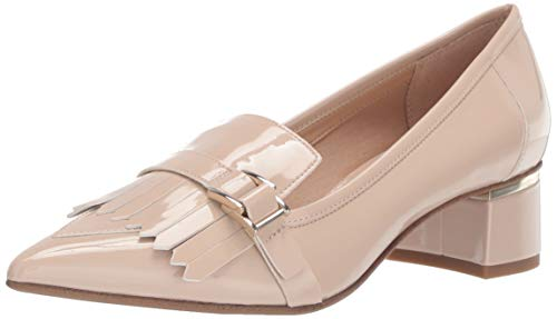 Franco Sarto Women's Grenoble Loafer Nude Patent 9 M US