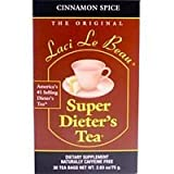 Laci Le Beau Super Dieters Cinnamon Spice Tea – 30 bags per pack – 6 packs per case. For Sale