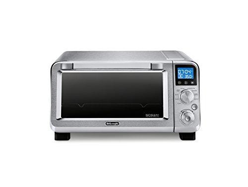 De'Longhi EO141150M Livenza Compact Convection Oven, 0.5 cu. Ft, Silver