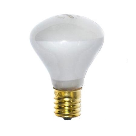 Pack Of 10 40R14 40 Watt E17 Intermediate Base Reflector R14 Incandescent Light Bulb
