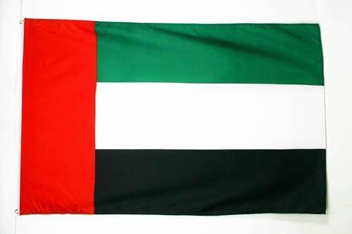 AZ FLAG Drapeau Emirats Arabes Unis 90x60cm Drapeau /émirati 60 x 90 cm Drapeaux