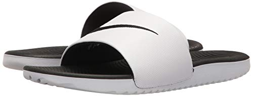 Slide Uomo Nike Basse Kawa 001 Scarpe black Da Bianco Ginnastica white H5xFP4qxWw