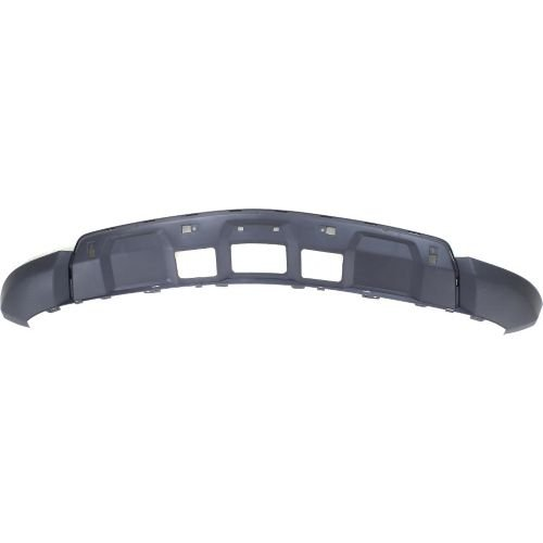 Make Auto Parts Manufacturing - FRONT LOWER BUMPER COVER; MATTE-BLACK FINISH - (Lower Front Frame Cover)