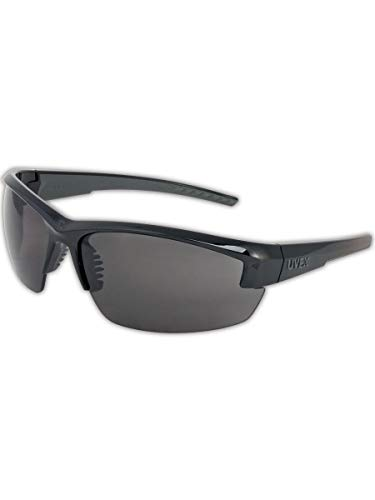 Uvex S1501X Mercury Protective Eyewear, Capacity, Volume, Standard, Gray (Pack of 10)