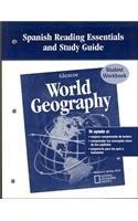 Glencoe World Geography, Spanish Reading Essentials and Study Guide, Workbook (Spanish Edition)