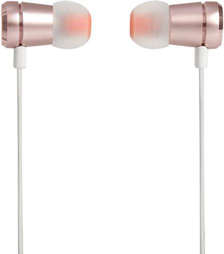 JBL T290 - Auriculares Intraaurales con el Potente Sonido Pure Bass de JBL (Aluminio), Oro Rosado: Amazon.es: Electrónica