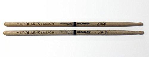 Personalized Promark Japanese Shira Kashi White Oak 7A Wood Single pair- Customized with Laser Engraving
