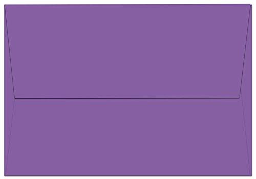 "100 Lilac Purple A1 Envelopes - 5.125"" x 3.625"" - Square Flap"
