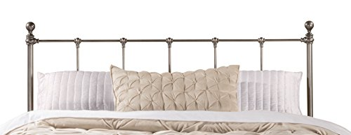 Hillsdale Furniture 1944HF Hillsdale Molly Full Bed Headboard with Frame Black Steel