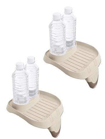 Intex B01K8AWN8I PureSpa Cup Holder and Refreshment Tray (2 Pack), Multi by Intex (Image #3)