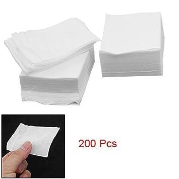 Rectangular facial pads