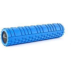 ProSource Ultra Deluxe Revolutionary Sports Medicine Roller, 24 x 5.5 Inch, Blue