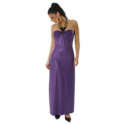 Young-Fashion - Vestido - para mujer morado