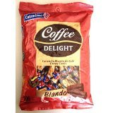 Colombina Coffee Delight Chewy Candy Caramelo Blando de Cafe 100 pieces 430g 4 Pack