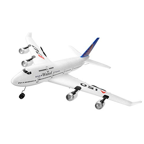 Ktyssp New WLtoys A150- B747 3CH 2.4G RC Airplane RTF Remote Control Glider Sailplane Aircraft