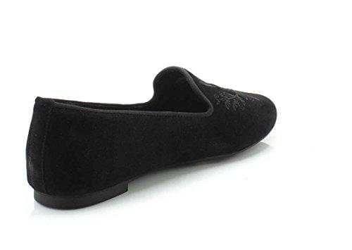 Pantofola Vionica Da Donna Romi Smoking Nera