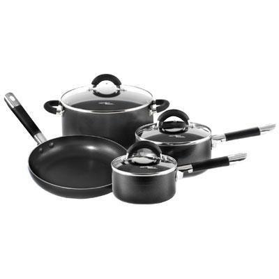 M.E. Heuck HB 7 pc. Cookware Set Black from M.E. Heuck