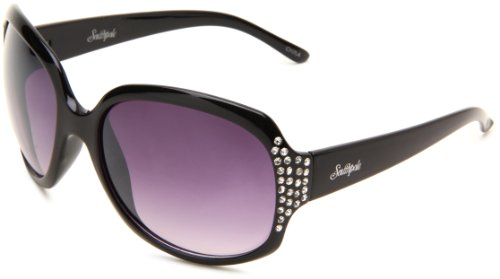 Southpole Women's 144SP OX Round Sunglasses - Black Frame...