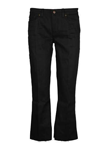 Saint Laurent Femme 543074YF8691080 Noir Coton Jeans
