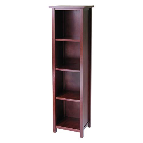 Winsome Wood 94416 Milan Storage/Organization, Tall, Antique Walnut ()