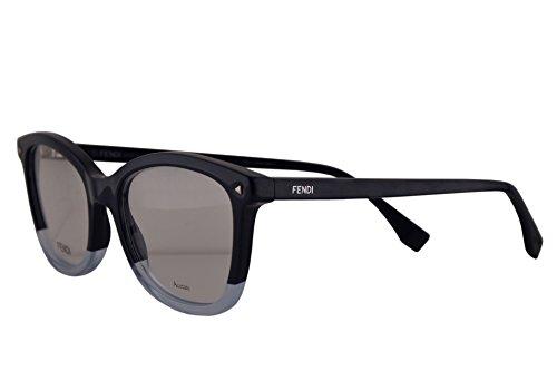 00976014f31 Fendi FF0234 Eyeglasses 52-18-140 Blue w Demo Clear Lens PJP FF