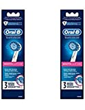 Oral-B Professional Sensitive Gum Care Replacement Brush Head iaxIai, 2 Pack (3 Brush Heads) For Sale