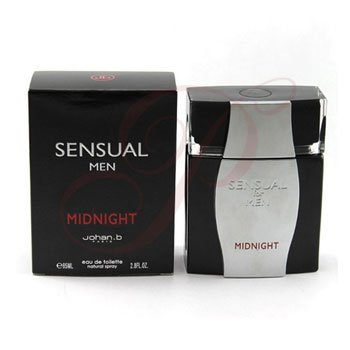 Sensual Midnight FOR MEN by Johan B. Paris - 2.8 oz EDT Spray