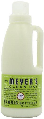 Fabric Softener Case (Mrs. Meyer's Clean Day Fabric Softener, Lemon Verbena, 32-Ounce Bottles (Case of 6))