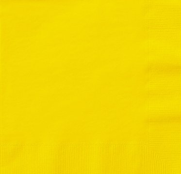 Thali Outlet/® 125 x Yellow 2 Ply 33cm 4 Fold Paper Napkins Tissue Serviettes For Birthdays Weddings Parties All Occasions