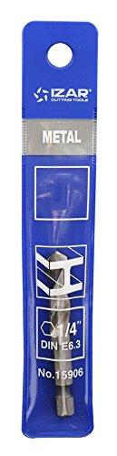 /Punta per metallo HSS esagonale 1//4/DIN E6.3/metallo 5,00/mm Izar 15900/