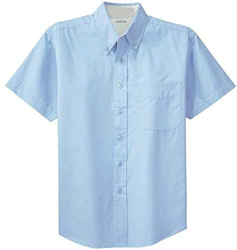 Joe's USA - Men's Short Sleeve Wrinkle Resistant Easy Care -