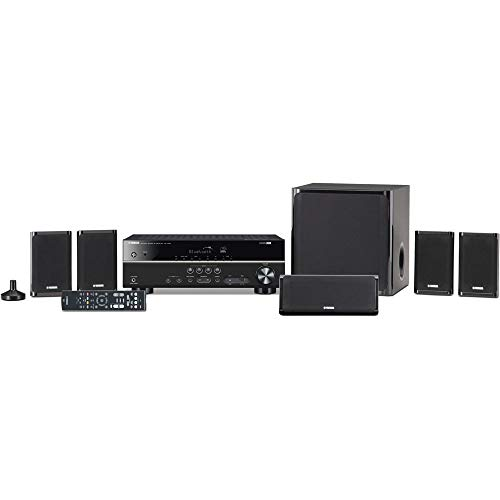 Yamaha YHT-4930UBL  5.1-Channel Home Theater in a Box System with Bluetooth (System Yamaha Theater Home Sound)